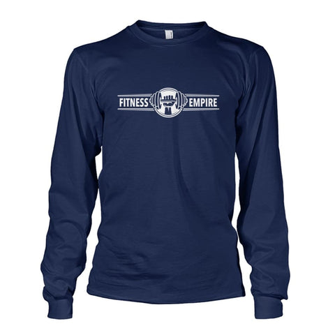 Image of Gym Empire Long Sleeve - Navy / S - Long Sleeves