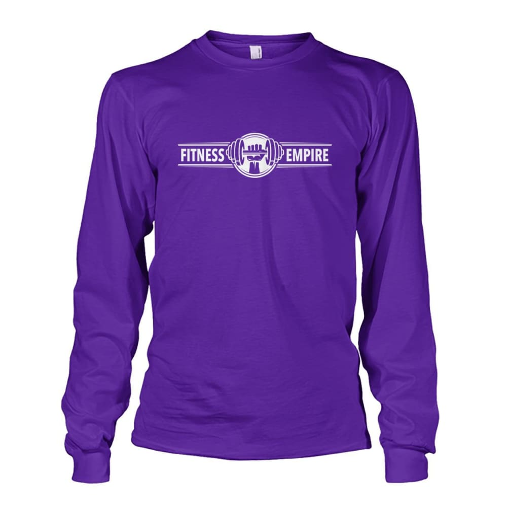 Gym Empire Long Sleeve - Purple / S - Long Sleeves