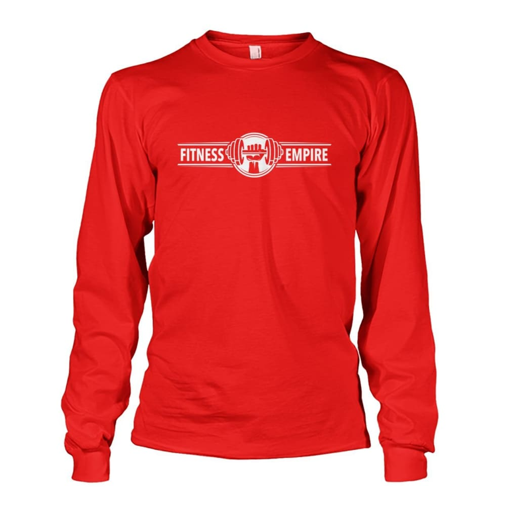 Gym Empire Long Sleeve - Red / S - Long Sleeves