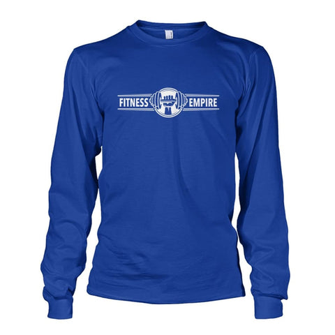 Image of Gym Empire Long Sleeve - Royal / S - Long Sleeves