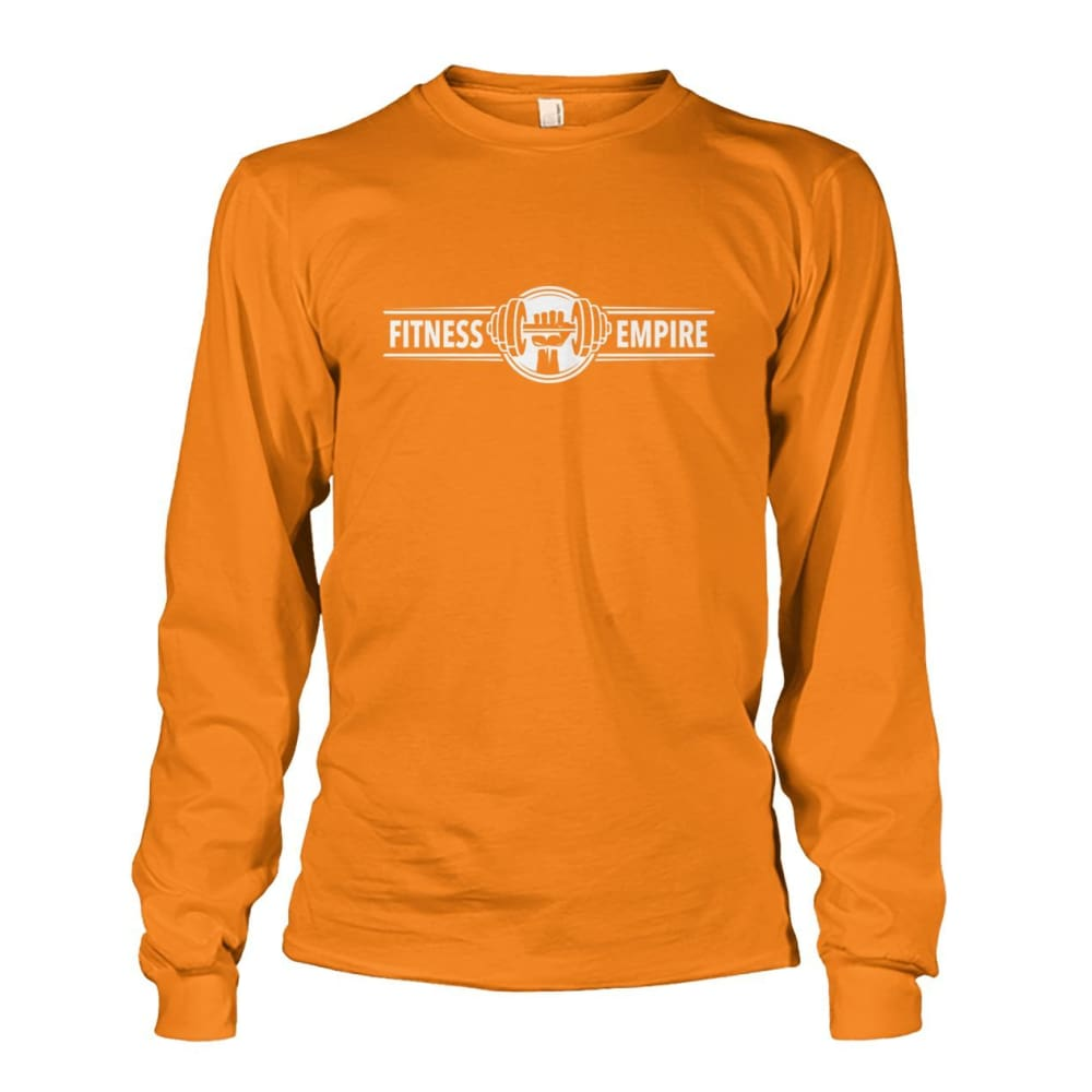 Gym Empire Long Sleeve - Safety Orange / S - Long Sleeves