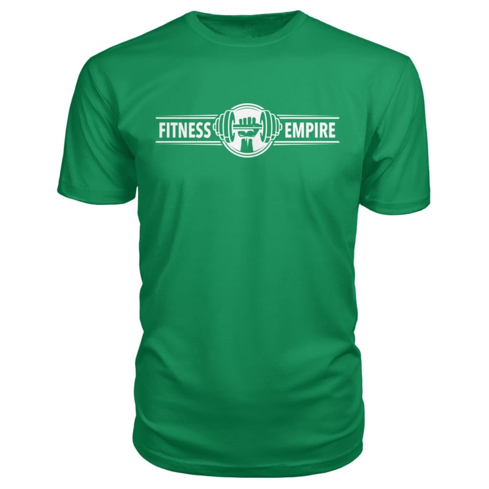 Gym Empire Premium Tee - Green Apple / S - Short Sleeves