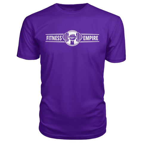 Image of Gym Empire Premium Tee - Purple / S - Short Sleeves