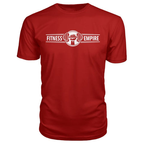Image of Gym Empire Premium Tee - Red / S - Short Sleeves