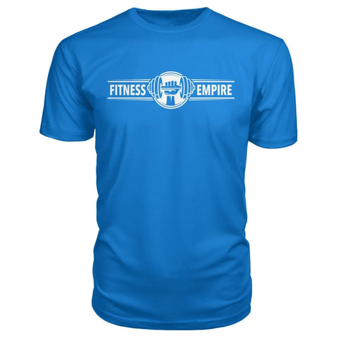 Image of Gym Empire Premium Tee - Royal Blue / S - Short Sleeves