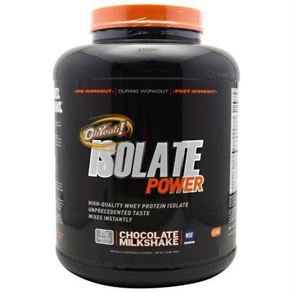 ISS Research OhYeah! Isolate Power Vanilla Creme - Chocolate Milkshake / 4 lb - Supplements