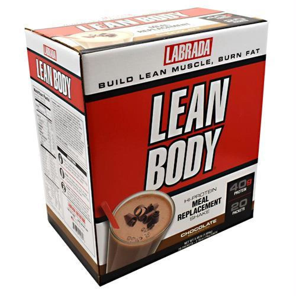 Labrada Nutrition Lean Body Chocolate - Gluten Free - Chocolate / 20 ea - Supplements