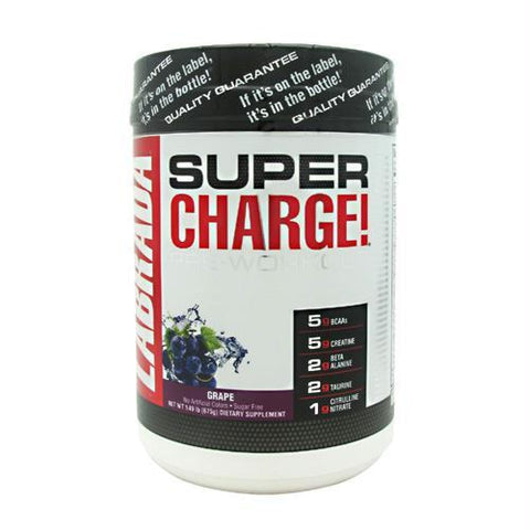 Labrada Nutrition Super Charge 5.0 Grape - Gluten Free - Grape / 25 ea - Supplements