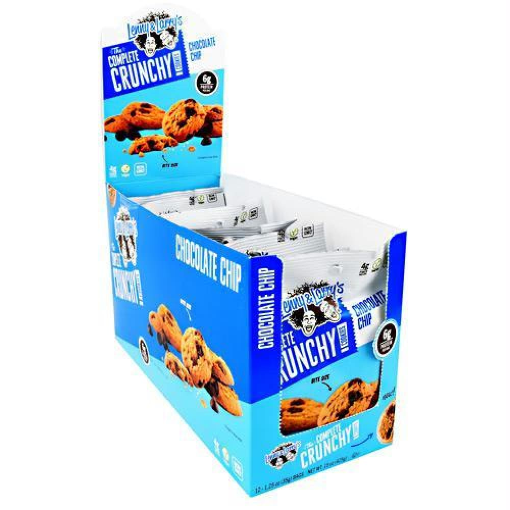 Lenny & Larrys The Complete Crunchy Cookies Cinnamon Sugar - Chocolate Chip / 12 ea - Bars