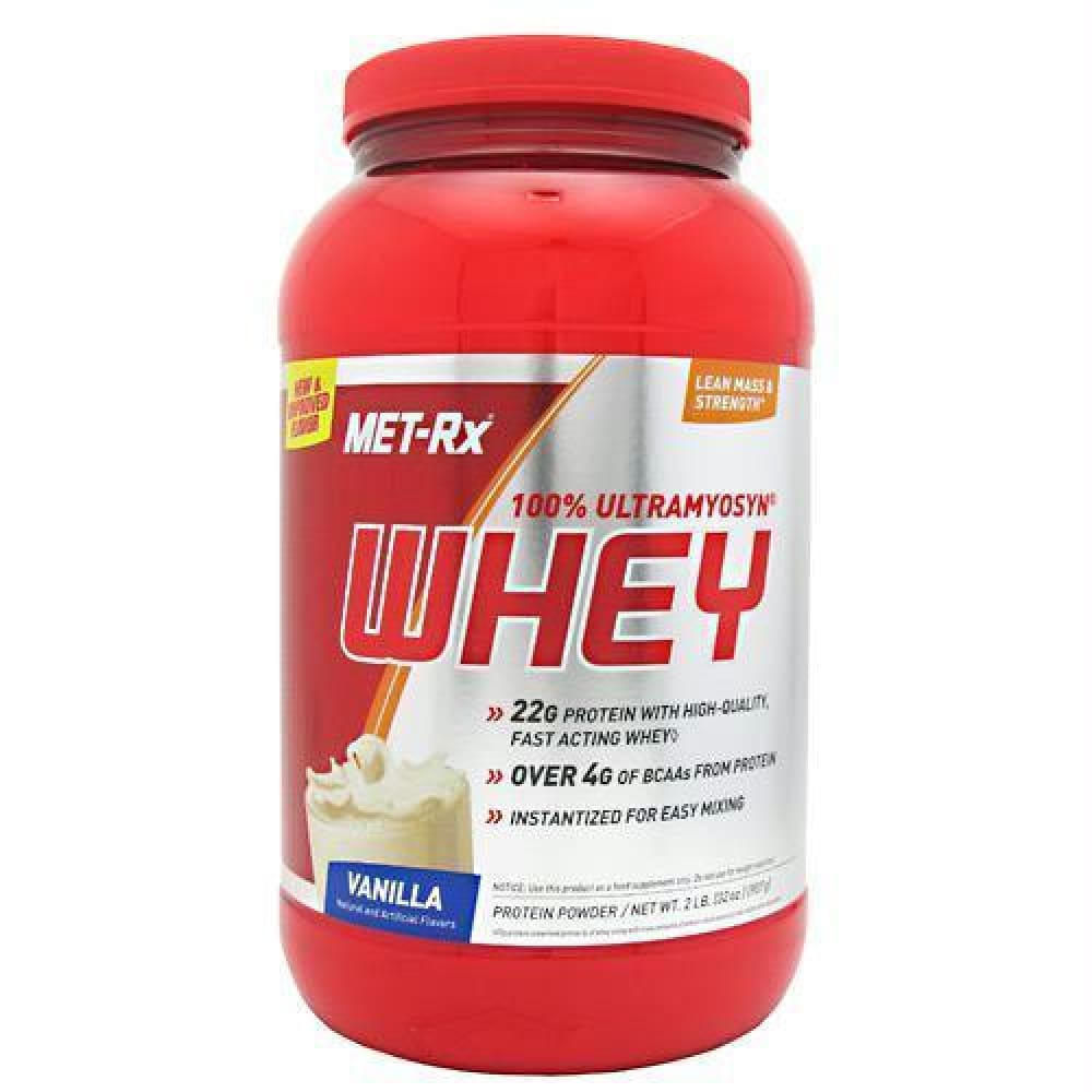 Met-Rx USA 100% Ultramyosyn Whey Vanilla - Vanilla / 2 lb - Supplements