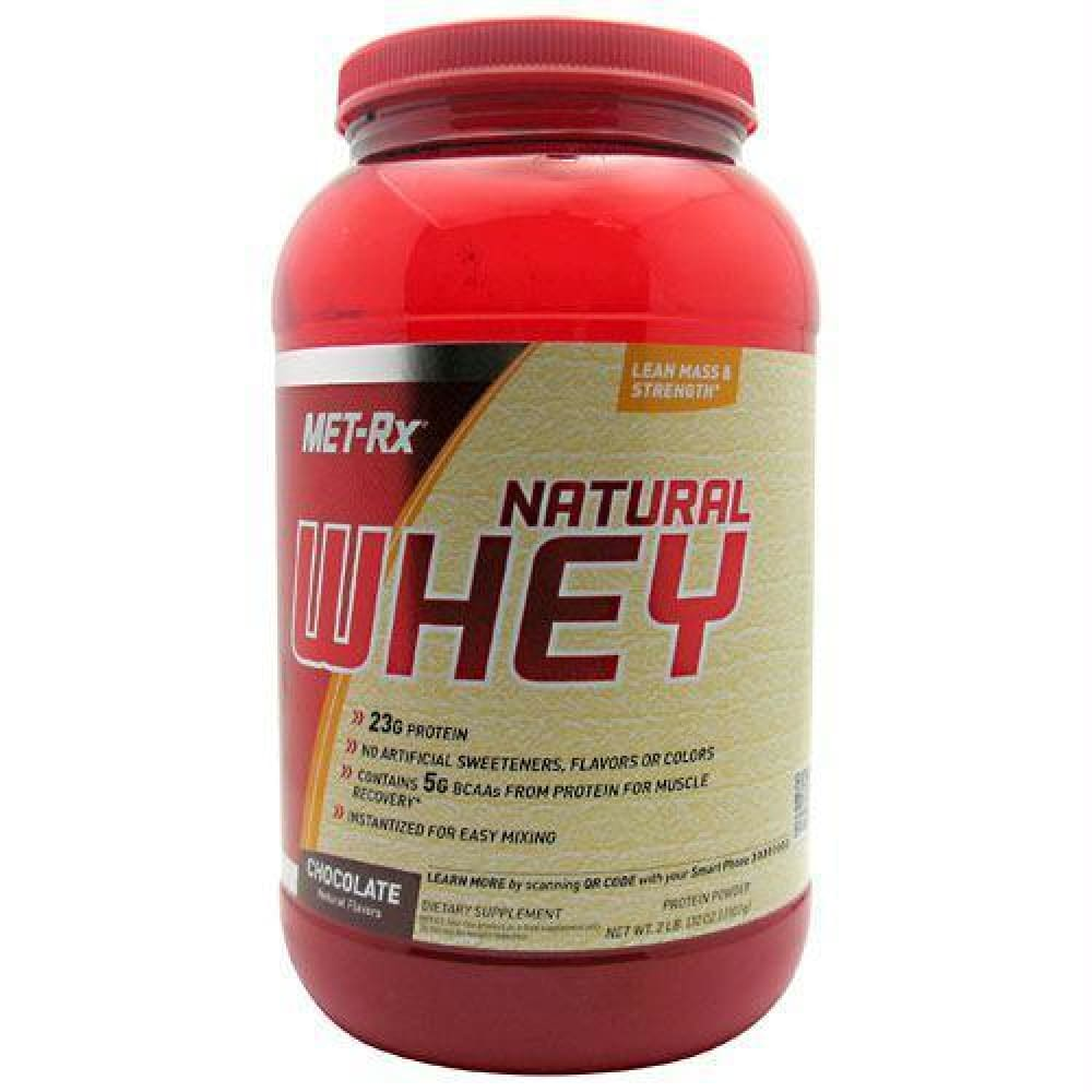 Met-Rx USA Natural Whey Protein Vanilla - Chocolate / 2 lb - Supplements