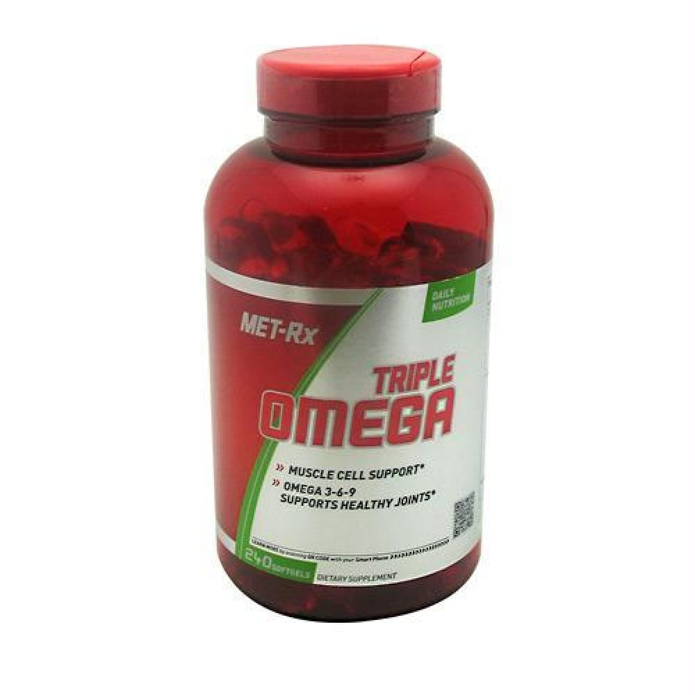 Met-Rx USA Triple Omega - 240 ea - Supplements