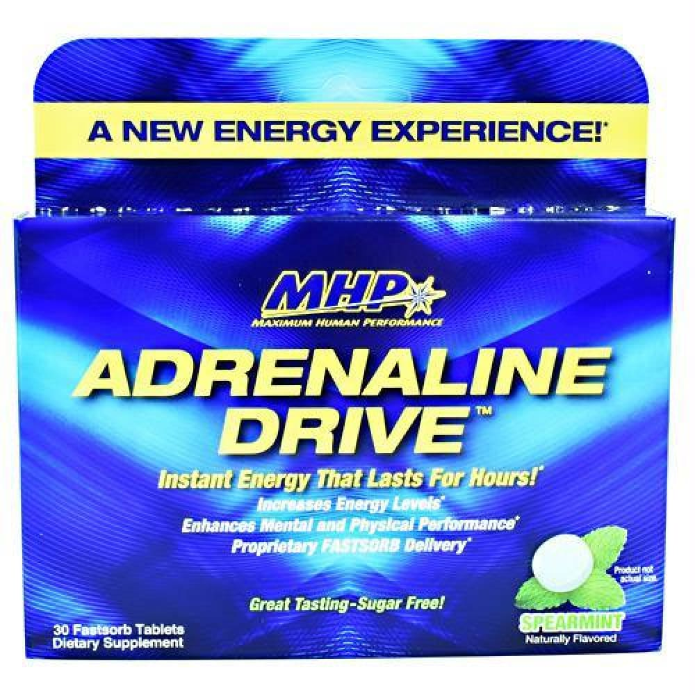 MHP Adrenaline Drive Spearmint - Spearmint / 30 ea - Supplements