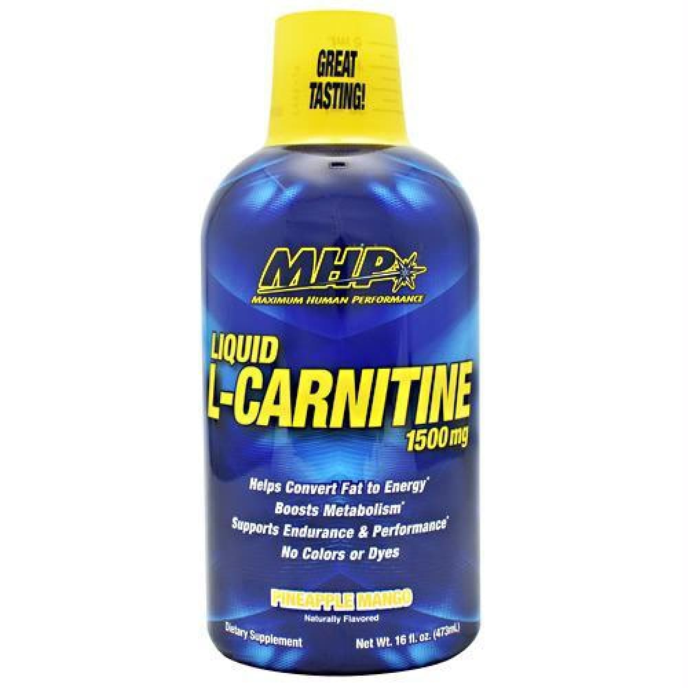 MHP Liquid L-Carnitine Pineapple Orange - Pineapple Orange / 16 fl oz - Supplements