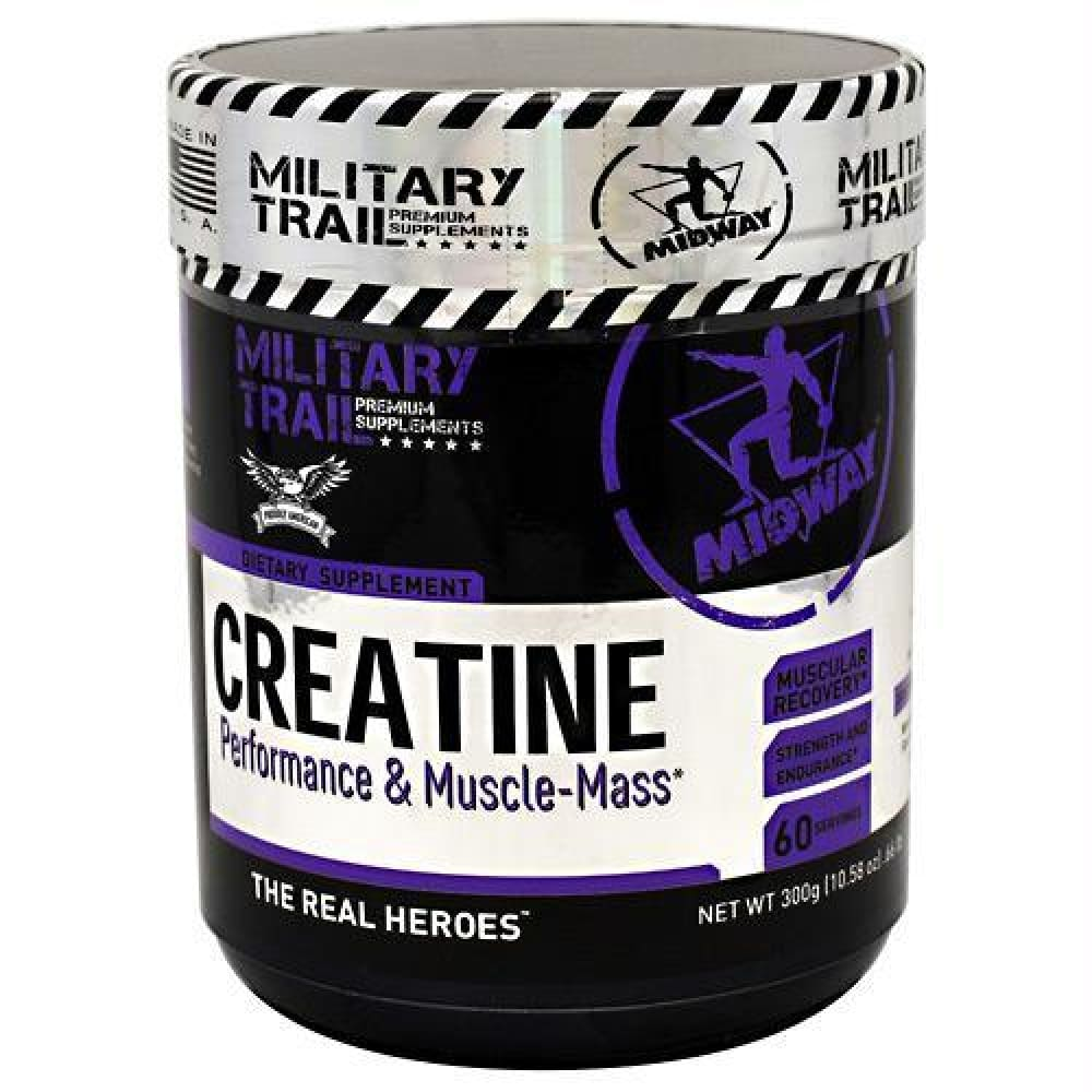 Midway Labs Military Trail Premium Supplements Creatine Unflavored - Unflavored / 60 ea - Supplements