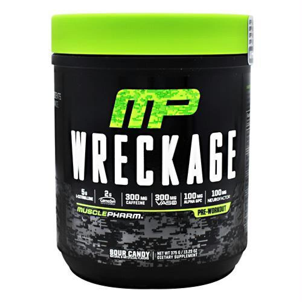 MusclePharm Wreckage Sour Candy - Sour Candy / 25 ea - Supplements
