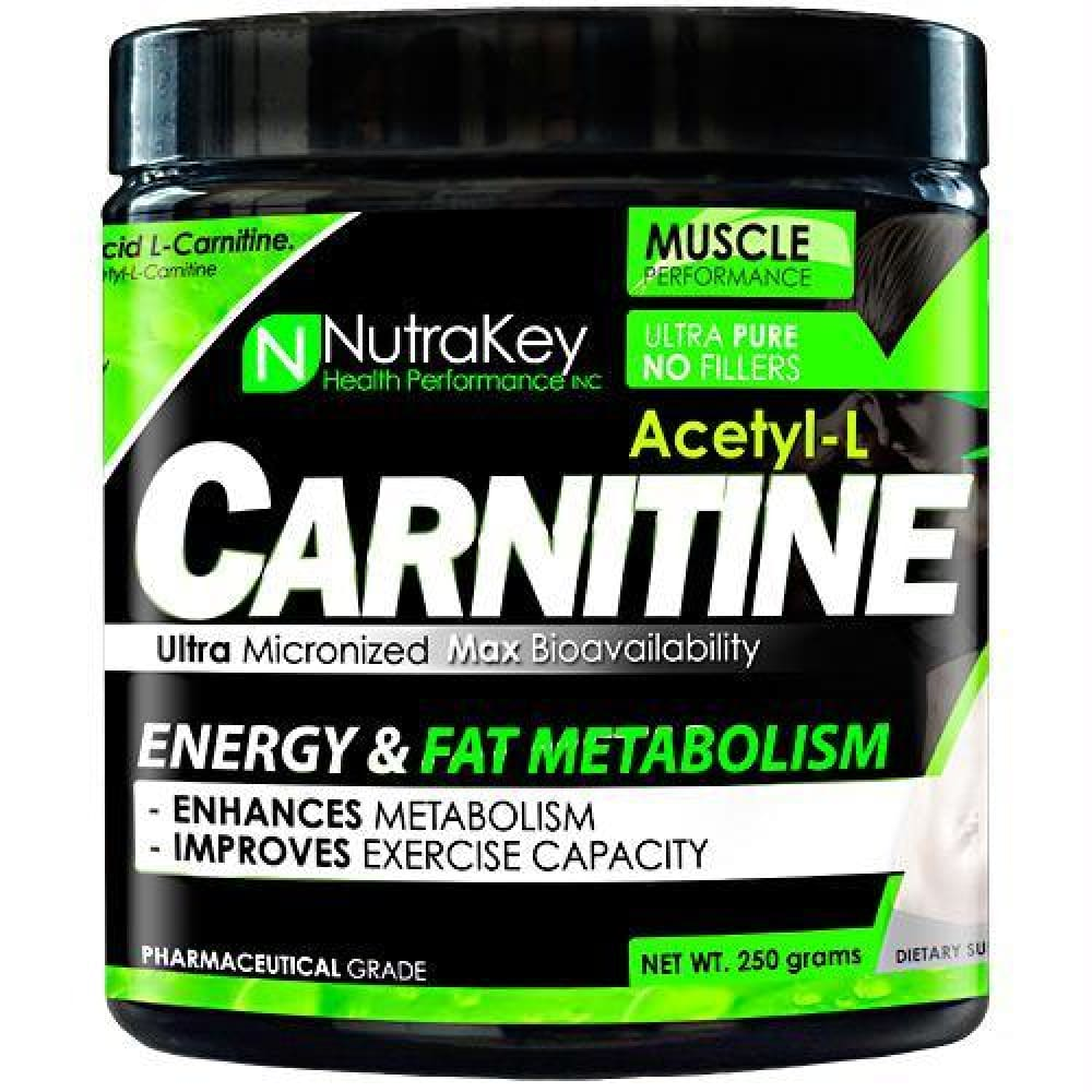 Nutrakey Acetyl-L-Carnitine - 500 ea - Supplements