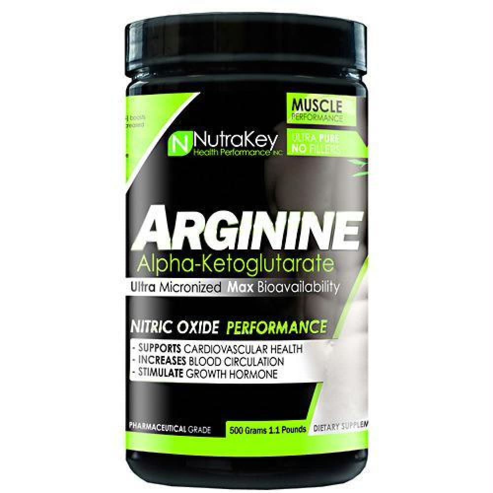 Nutrakey Arginine Powder - 500 g - Supplements