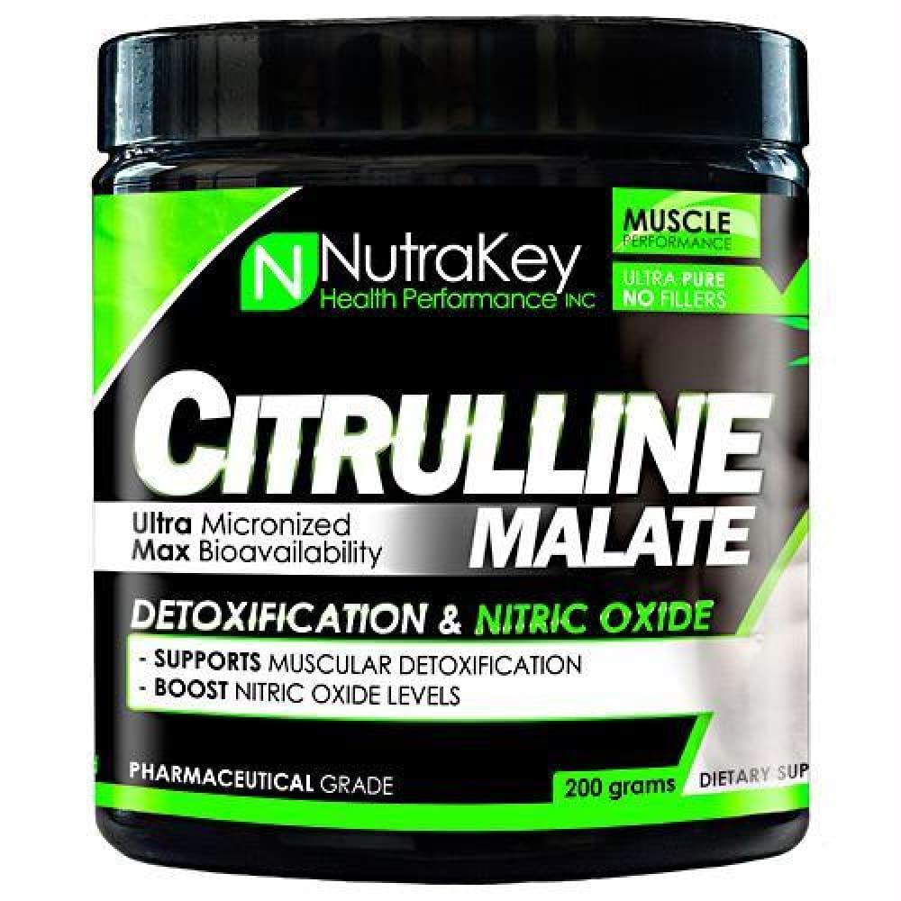Nutrakey Citrulline Malate - 200 g - Supplements
