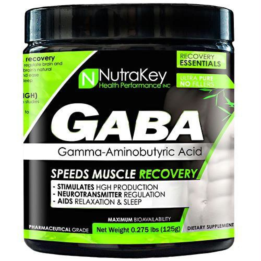 Nutrakey GABA Unflavored - Unflavored / 42 ea - Supplements