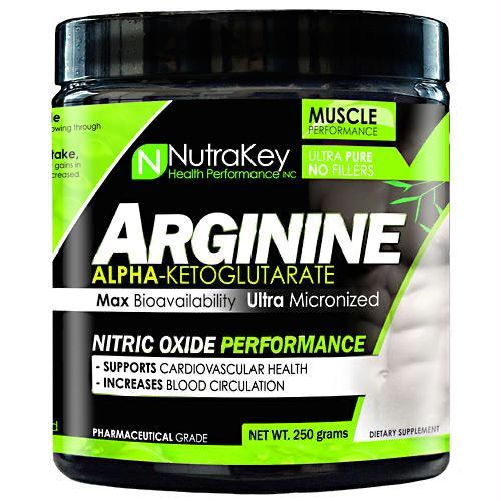 Nutrakey L-Arginine Unflavored - Unflavored / 250 g - Supplements
