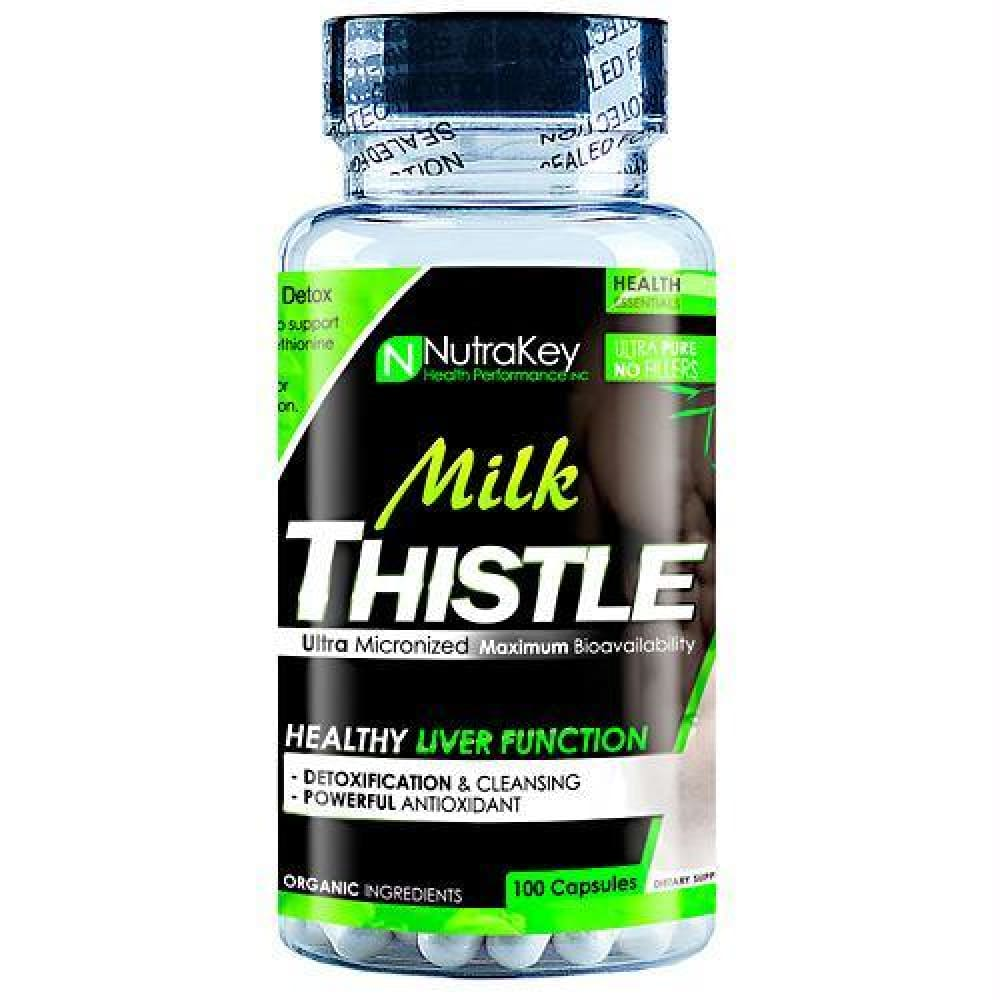 Nutrakey Milk Thistle - 100 ea - Supplements