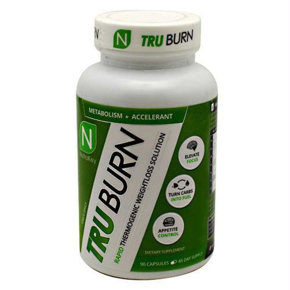 Nutrakey Tru Burn - 90 ea - Supplements