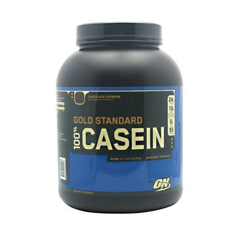 Optimum Nutrition Gold Standard 100% Casein Chocolate Peanut Butter - Chocolate Supreme / 4 lb - Supplements