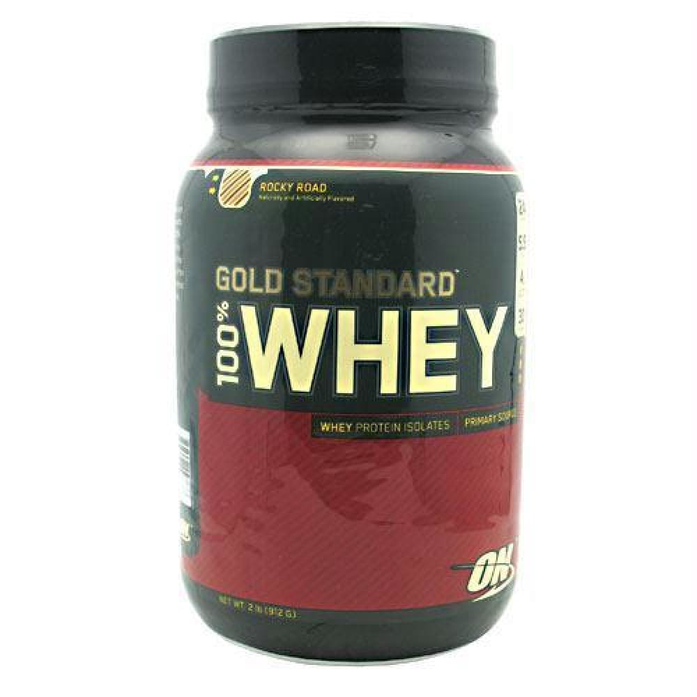Optimum Nutrition Gold Standard 100% Whey Extreme Milk Chocolate - Rocky Road / 2 lb - Supplements