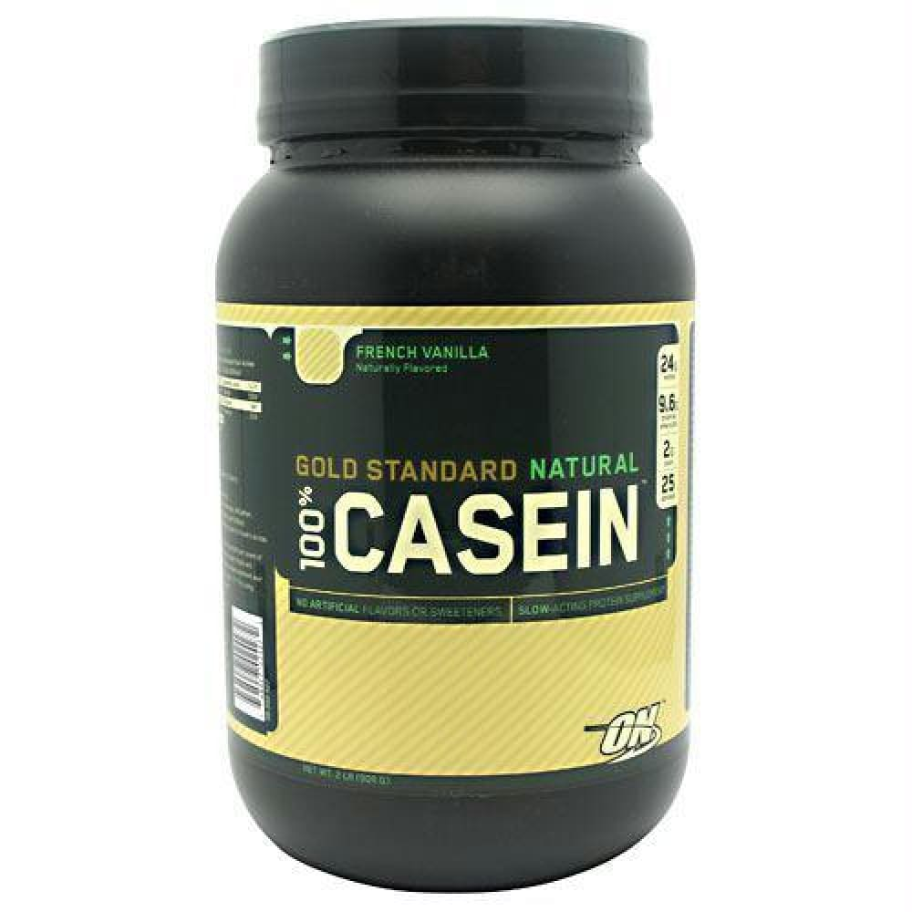 Optimum Nutrition Gold Standard Natural 100% Casein French Vanilla - French Vanilla / 2 lb - Supplements
