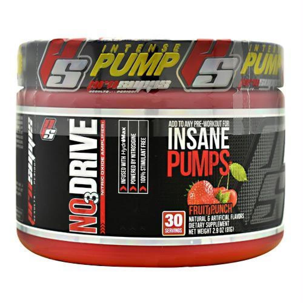 Pro Supps NO3 Drive Blue Razz - Fruit Punch / 30 ea - Supplements