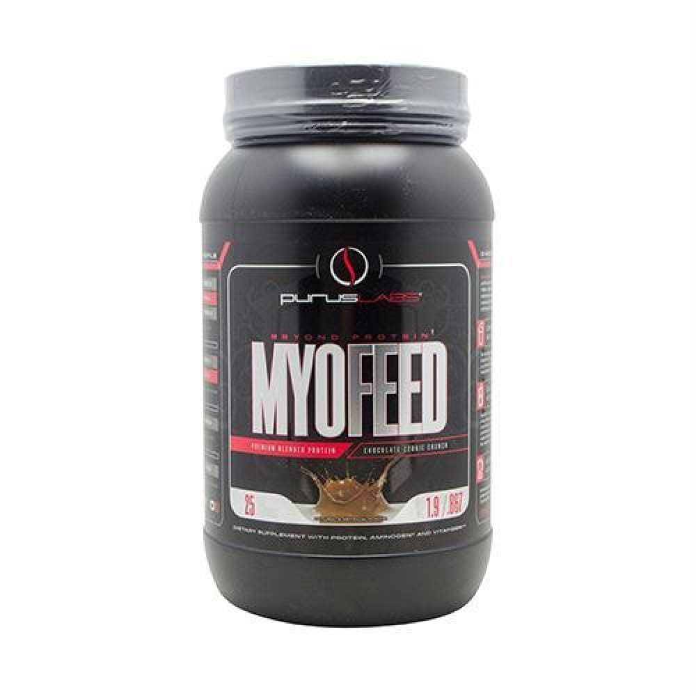 Purus Labs MyoFeed Vanilla Peanut Butter - Chocolate Cookie Crunch / 25 ea - Supplements