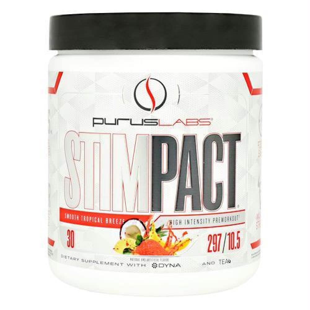 Purus Labs Stimpact Smooth Tropical Breeze - Smooth Tropical Breeze / 30 ea - Supplements
