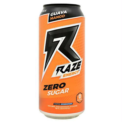 Repp Sports Raze Energy Grape Bubblegum - Guava Mango / 12 ea - Drinks