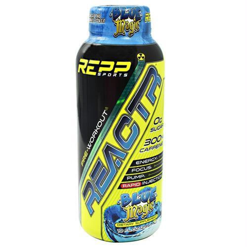 Repp Sports REACTR RTD Rainbow Burst - Blue Magic / 12 ea - Drinks