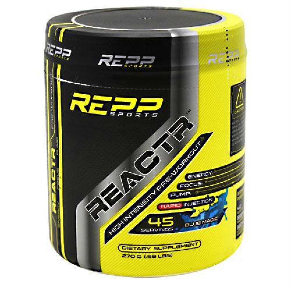 Repp Sports REACTR Zap Berry - Blue Magic / 45 ea - Supplements
