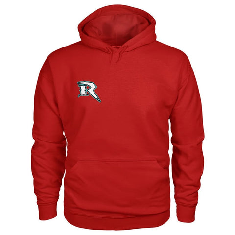 Image of Riptide Logo Hoodie - Cherry Red / S - Hoodies