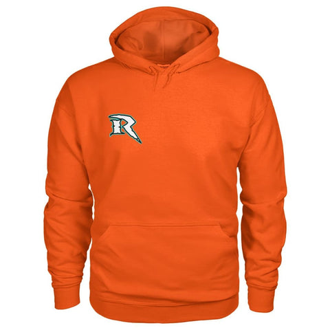 Image of Riptide Logo Hoodie - Orange / S - Hoodies