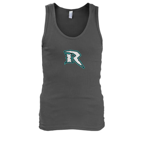Image of Riptide Logo Tank - Charcoal / S - Tank Tops