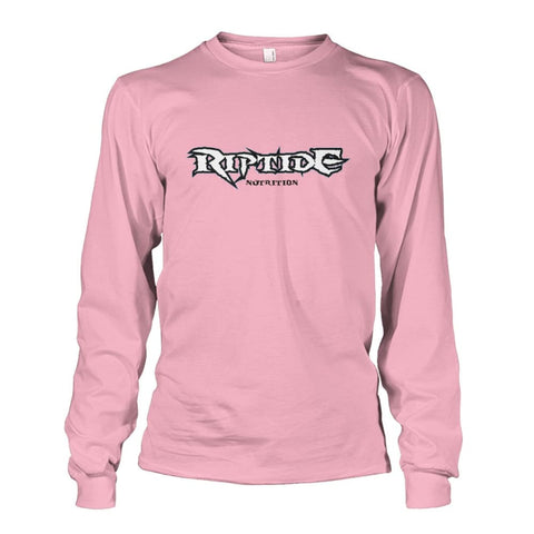 Riptide Nutrition Long Sleeve - Light Pink / S - Long Sleeves