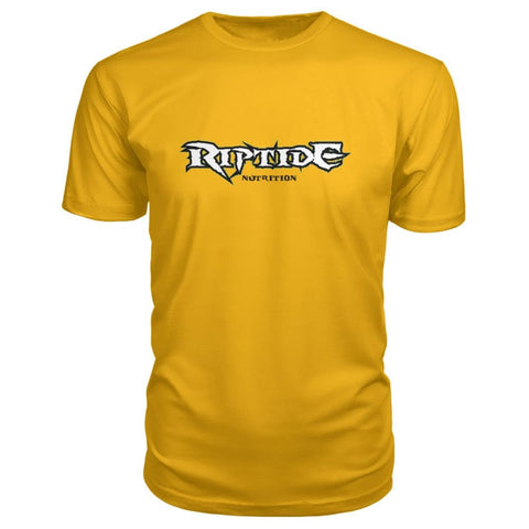 Riptide Nutrition Premium Tee - Gold / S - Short Sleeves