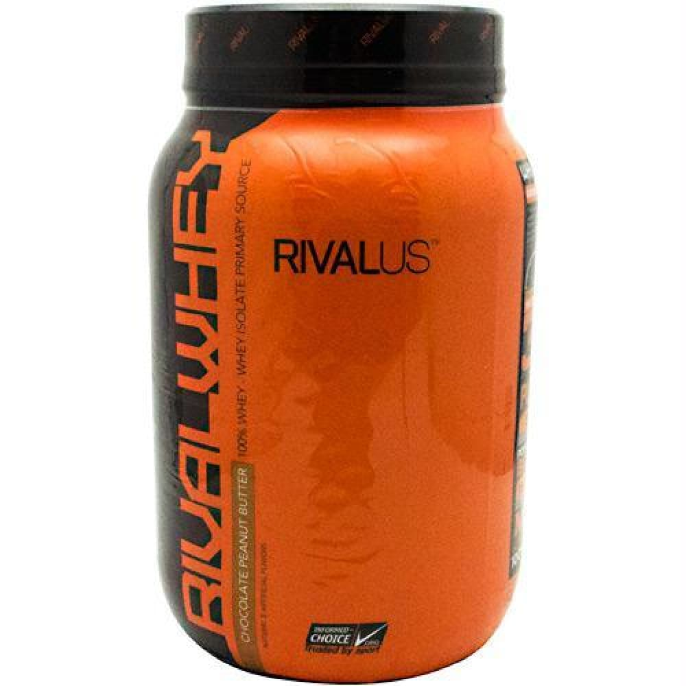 Rivalus Rival Whey Chocolate Peanut Butter - Chocolate Peanut Butter / 2 lbs - Supplements