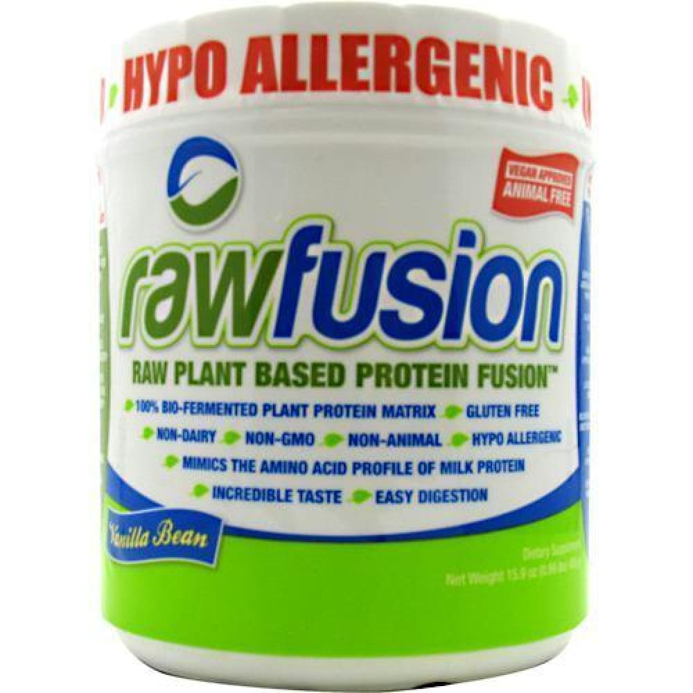 SAN Raw Fusion Unflavored - Gluten Free - Vanilla Bean / 15 ea - Supplements