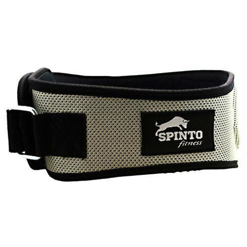 Spinto USA LLC Foam Core Lifting Belt Silver - Silver / 1 ea - Accessories