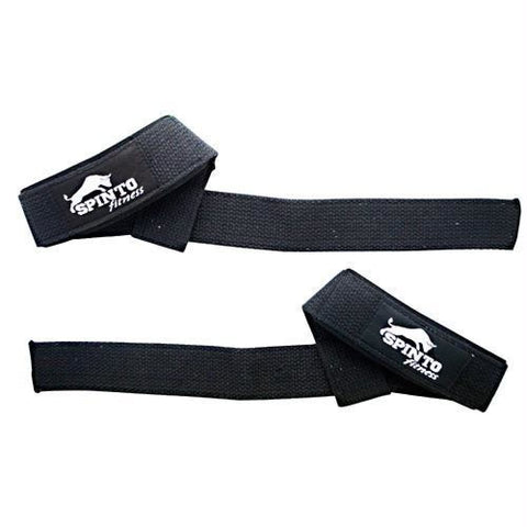 Spinto USA LLC Padded Wrist Straps Black Cotton - Black Cotton - Accessories