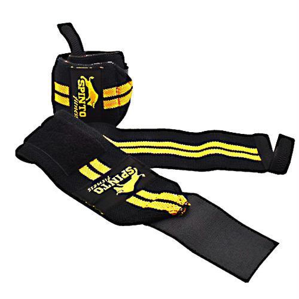Spinto USA LLC Wrist Wraps Gold - Gold - Accessories