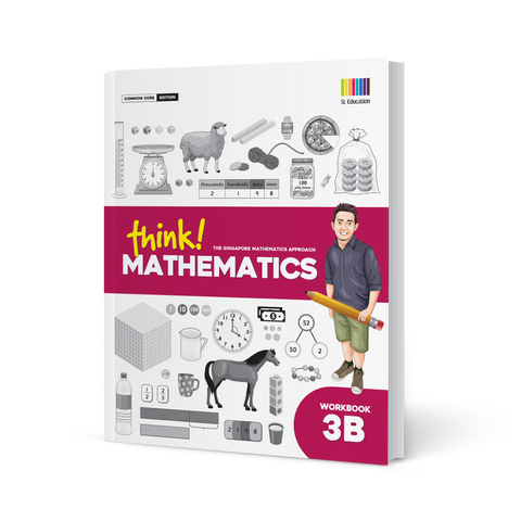 think! Mathematics Workbook 3B - Paperback