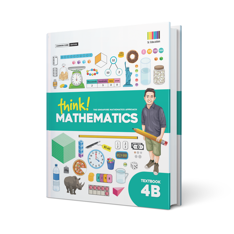 think! Mathematics Textbook 4B - Hardcover
