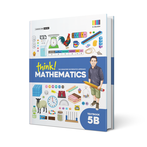 think! Mathematics Textbook 5B - Hardcover