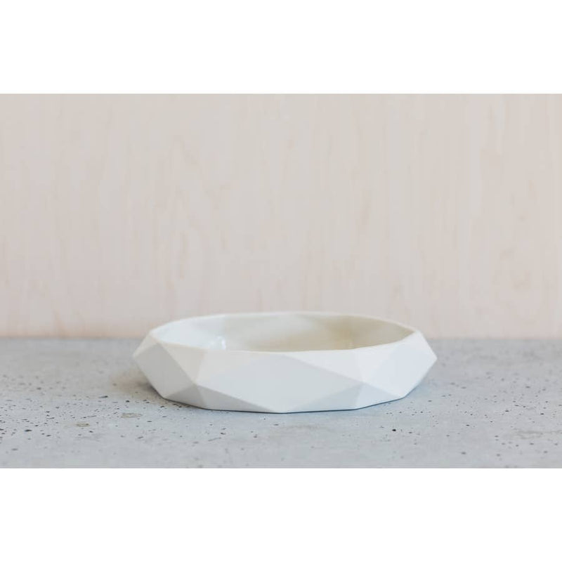 Geometric Serving Bowl